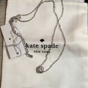 Kate Spade Infinity and Beyond Knot Mini Necklace
